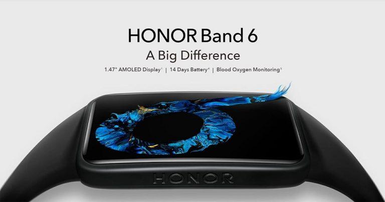 Honor Band 6 India Launch Tipped Using Flipkart